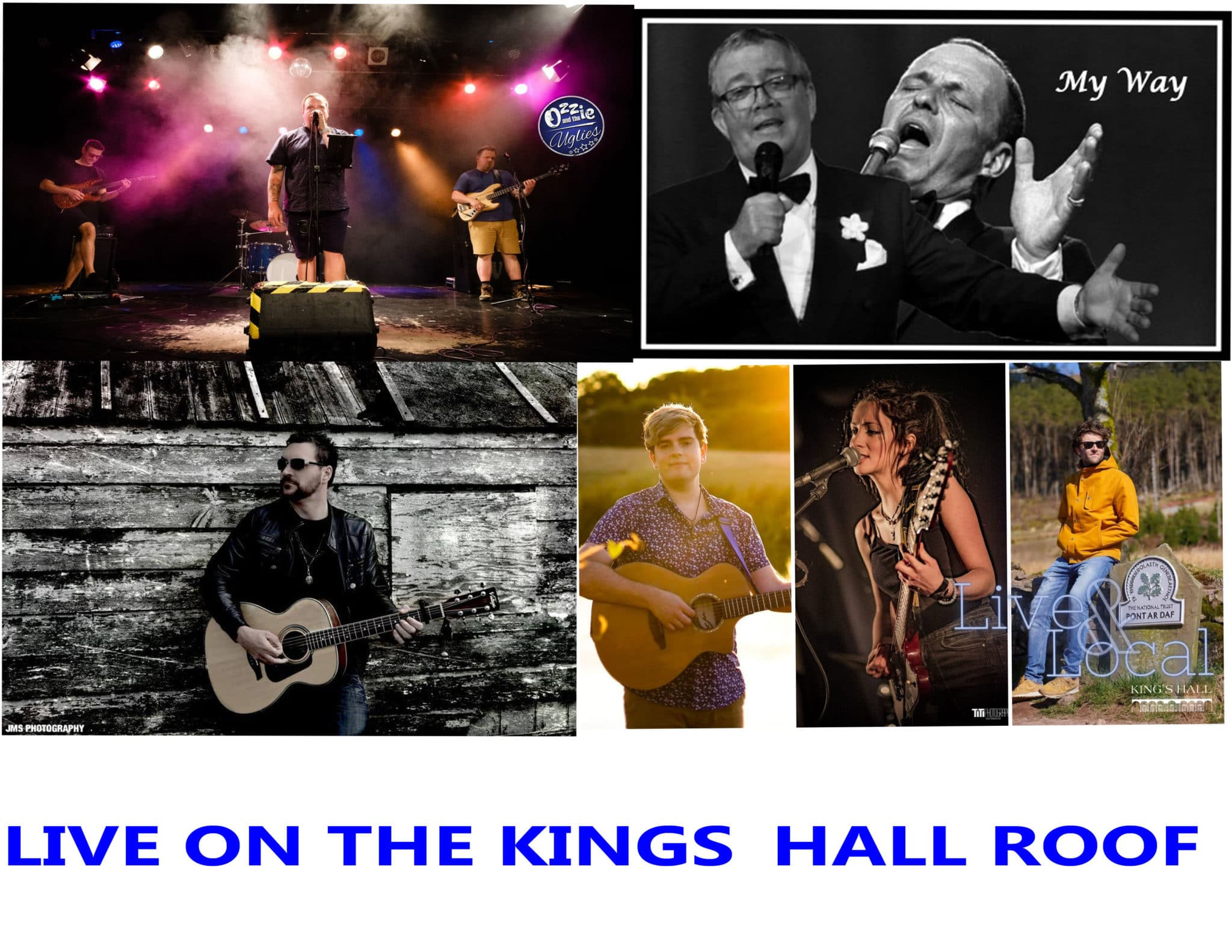 Live Music on the Kings Hall Roof