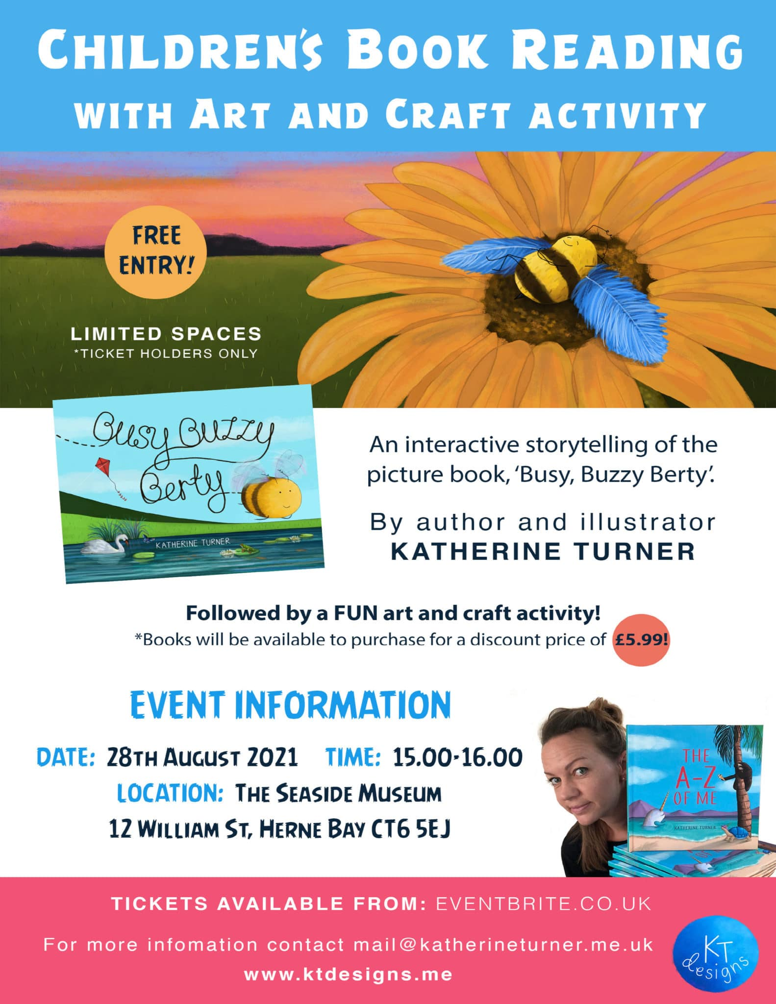 Children's Book Reading with Art and Craft activity
