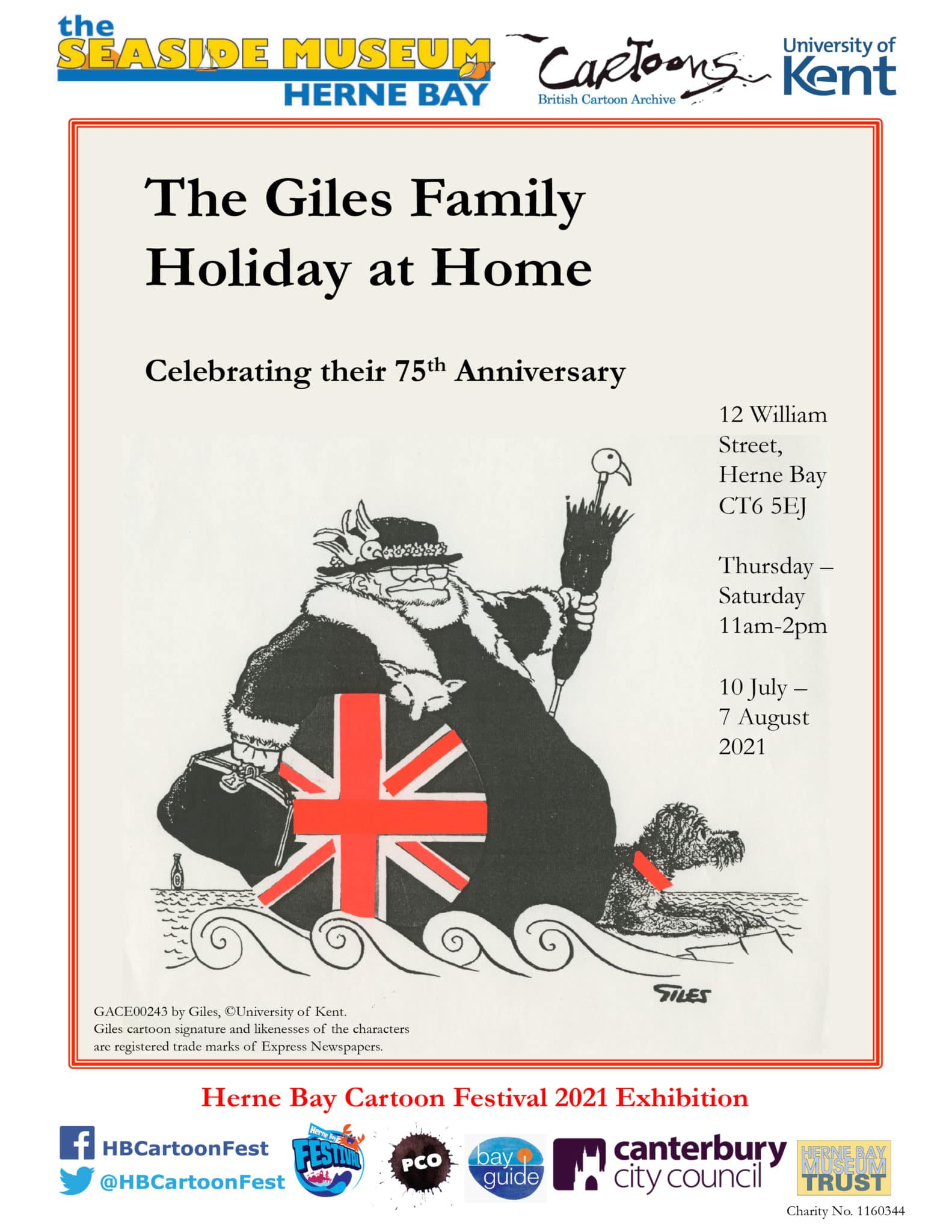 The Giles Family Holiday at Home.