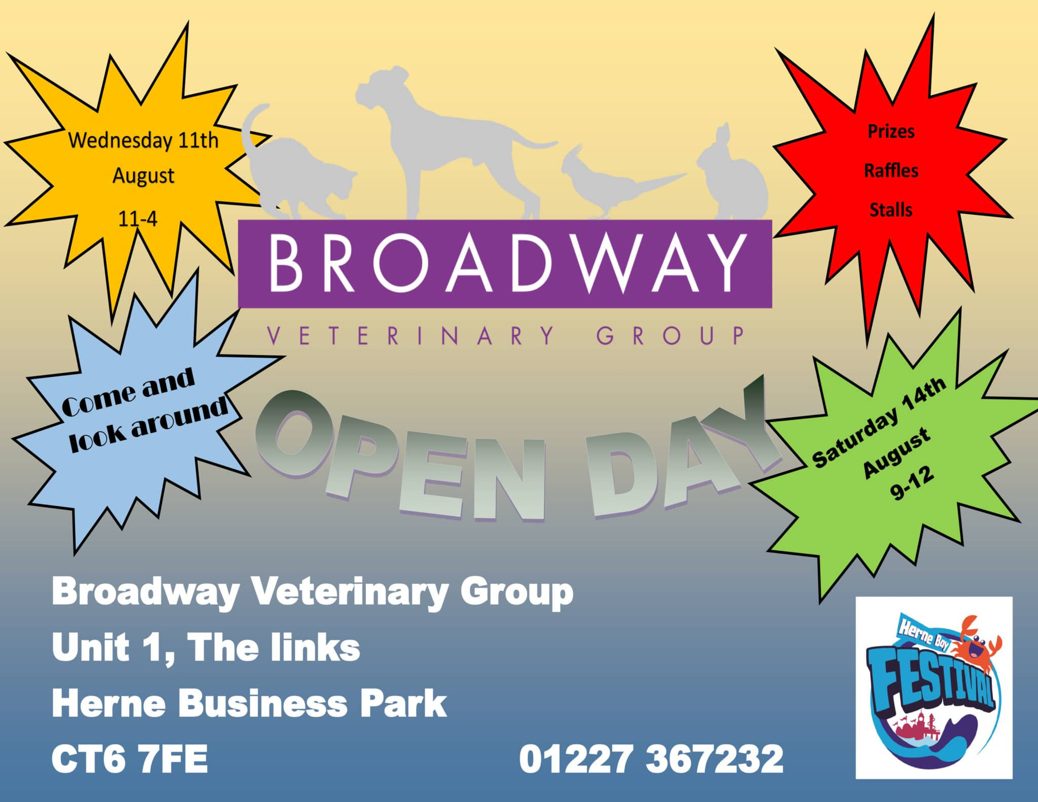 Broadway Veterinary Group Open Day