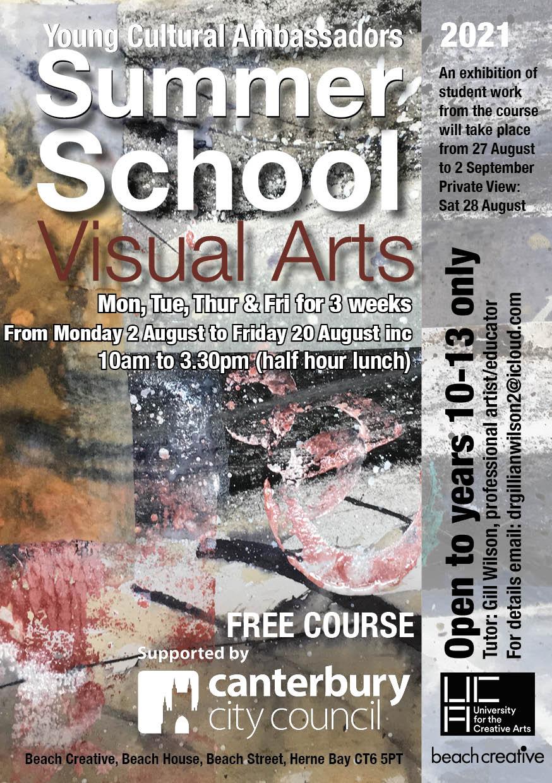 Young Cultural Ambassadors Summer School Visual Arts