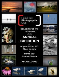 Herne Bay Photographic Club Annual Exhibition